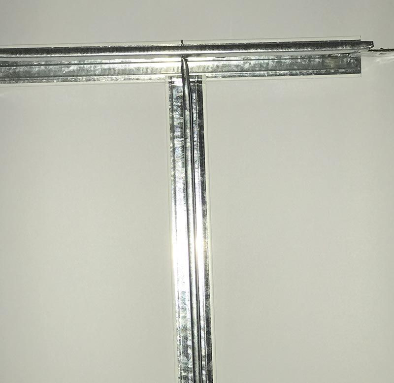 T32 Narrow Flat Ceiling Grid