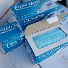 3 PLY Disposable Medical Respiratory Mask