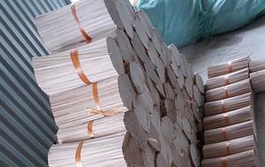 100% Bamboo raw material unscent agarbatti incense sticks dia 1.3mm