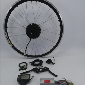 20 inch front wheel hub motor 350 watt electric bike conversion kit with CE certification