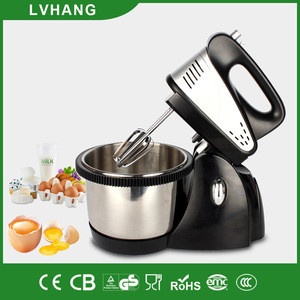 5 speed ABS plastic planetary mixer with rotating bowl