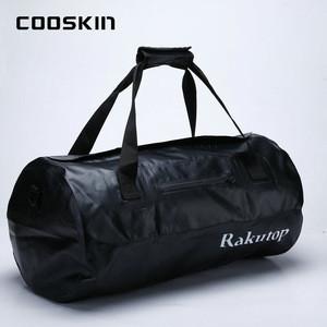 500D PVC tarpaulin 0.5mm foldable protege custom sport gym travel bag waterproof duffel bag