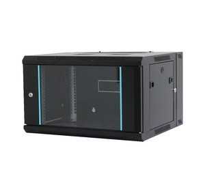 9U Wall Mount Mounted Server Rack 19 Inch Network Cabinet With stripes
