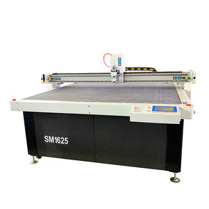 Automatic computerized apparel  textile cnc knife cutting machinery in cloths