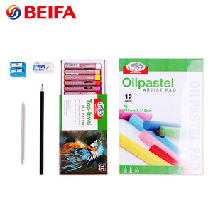 Beifa brand RST80011 Color Oil pastel Professional Watercolor Acrylic Oil Painting Artist Painting set