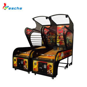 Coin operated indoor sport game street basketball arcade game machine