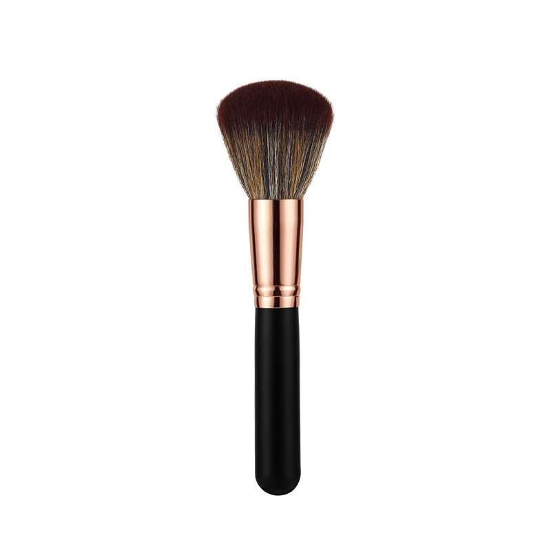 Cosmetic Makeup Brush with Wood Handle