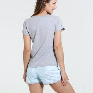 Cotton Summer Set Sleep Wear Pajamas Women Short Pyjamas