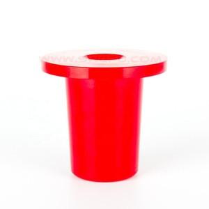 Custom red cast polyurethane bushings for sale