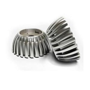 Customized aluminum CNC parts led heat sink
