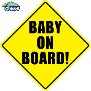 Customized Baby On Board Sign Car Sticker