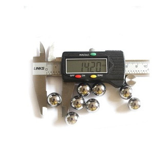 D14.2mm Powder grinding cemented carbide balls YG6X tungsten carbide rough grinding balls