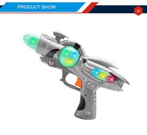 Dadi infinity blaster kids play plastic space toy gun with light