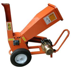 Diesel gasoline electric engine wood chipper shredder