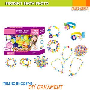 DIY Jewelry Making Kits  Girls Toys Bead Set For Bracelet,Necklace,Headwear