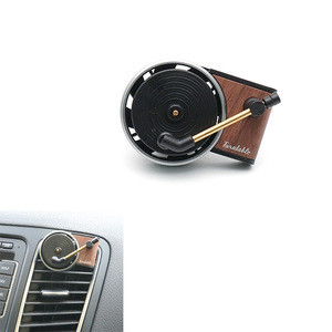 Eco-Friendly Long Lasting Turntable Scented CD Air Freshener Car Perfume Freshener