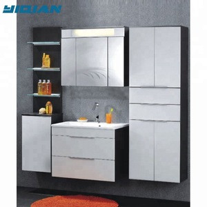 Import Euro Design Glossy Bath Furniture Sets With Led Mirror Cabinet Wall Hung 80cm Size Mdf Bathroom Furniture Design From China Find Fob Prices Tradewheel Com
