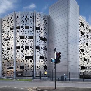 Exterior Building Wall Facade Anti-static Aluminum Solid Panel