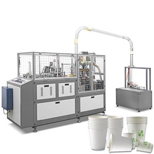 Fully Automatic Disposable Paper coffee cup making machine tea cups making machine