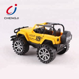 Good quality cheap friction inertial off road toy vehicles for kids