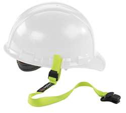 Hard Hat Lanyard w/ Clamp Elastic Lime