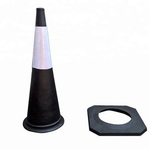 High EVA 1meter Traffic cone with reflective tape