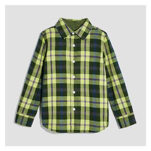 Hot sell childrens plaid shirt