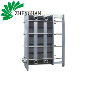 Industrial steam water air to air ptfe glass lined plate heat exchanger for milk pasteurization manufacturer