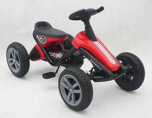 Kids Pedal Powered Ride on Go Kart Racer Car Toy