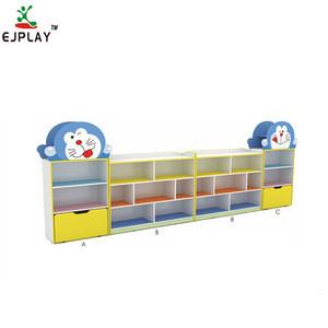 Light Weight kids cabinet cheap preschool rosewood furniture toy cabinet kid's storage children toys storage cabinets