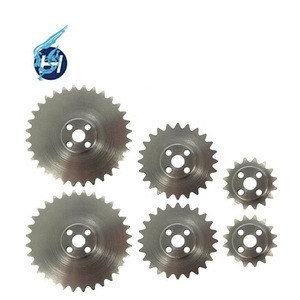 Made in china bike chain wheel customized chain wheel precision important parts of textile machinery