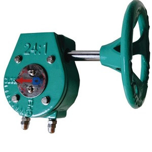 Made in China Factory Price Butterfly valve worm gear box