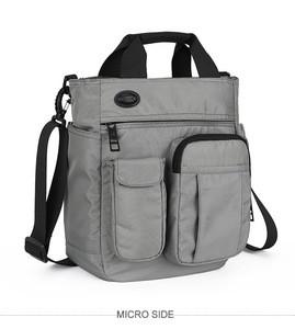 Men Multifunctional Shoulder Messenger Bag Waterproof Nylon Travel Handbag Large Capacity Storage Bags