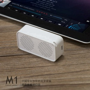 Metal music playing BT calling with  remote photo taking pocket mini speaker