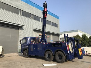 New Chinese widely used  tow truck wrecker recovery truck  for sale