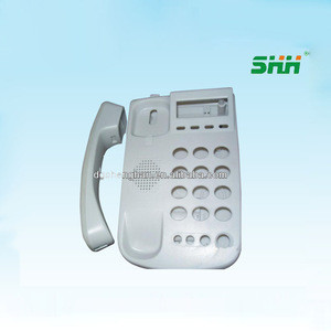 New shell case of wifi sim card desk phone/ 4g lte fixed phone with inbuilt battery and sip