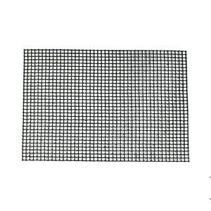 Non-stick PTFE Coated Fiberglass FDA Custom round square New Baking mat pizza mesh