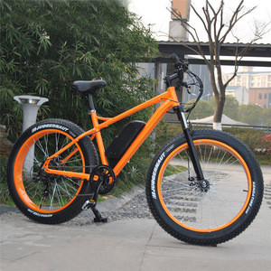 Powered by Battery 26inch 500W fat tyre electric beach cruiser motorcycle United Kingdom
