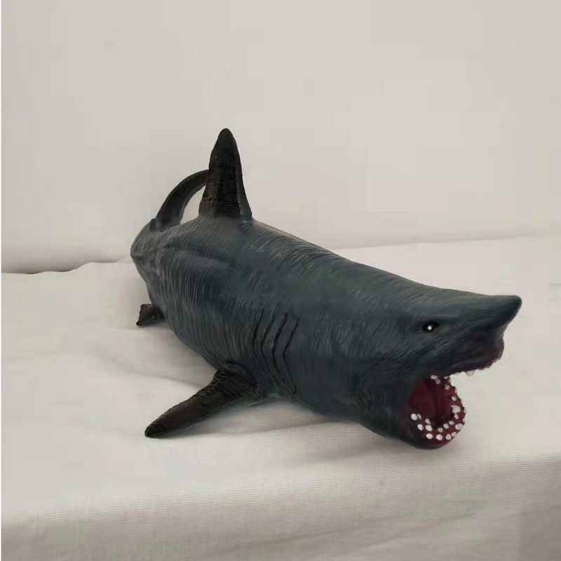 Quality chinese products Water Park Decoration Realistic Animatronic Megalodon shark Model Toys