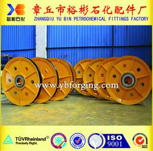 Railway wheel and axle, railway spare part , train part