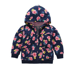 R&H Hot Selling High Quality Popular Wholesale Spring coats for Baby Toddler Windbreakers Hoodie