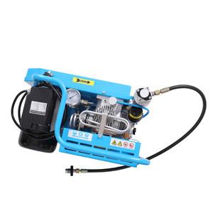 Scuba electric diving air compressor