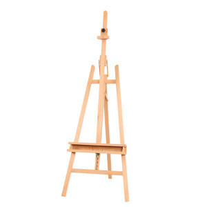 The Stand Tripod Artist easels Nature Beech Wood Easel Drawing Stand