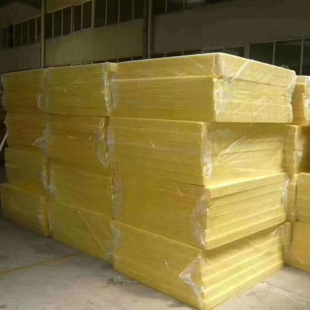 Glass wool acoustic panels soundproofing