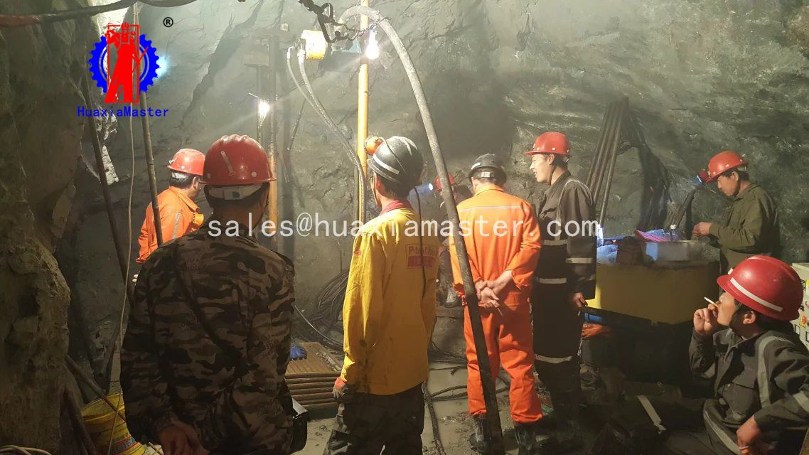KY-6075 steel strand wire exploration drilling rig for metal mine