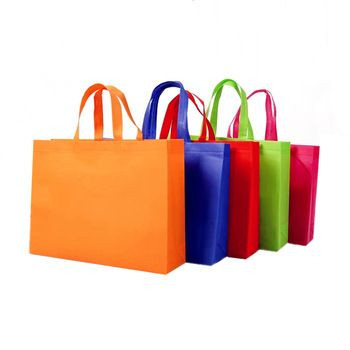 Biodegradable low price non-woven handle bag
