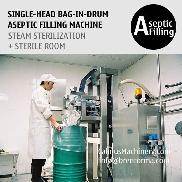 200 Litre Bag Aseptic Filling Machine 220 kg Bag in Drum Aseptic Filler