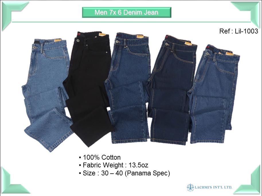 Men 7x6 Denim Jeans