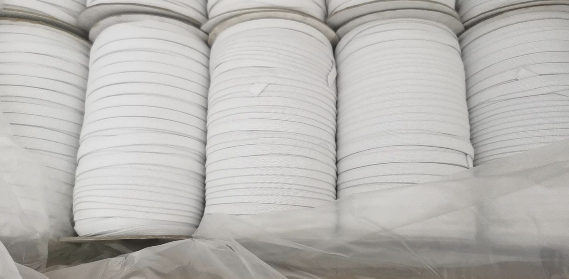 Knitted elastic for N95 mask and midical disposable mask