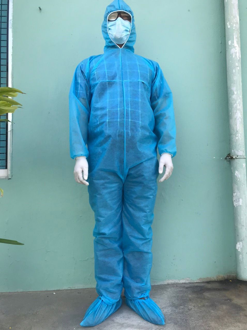 High quality Safety Protective Clothing / Disposable Coverall